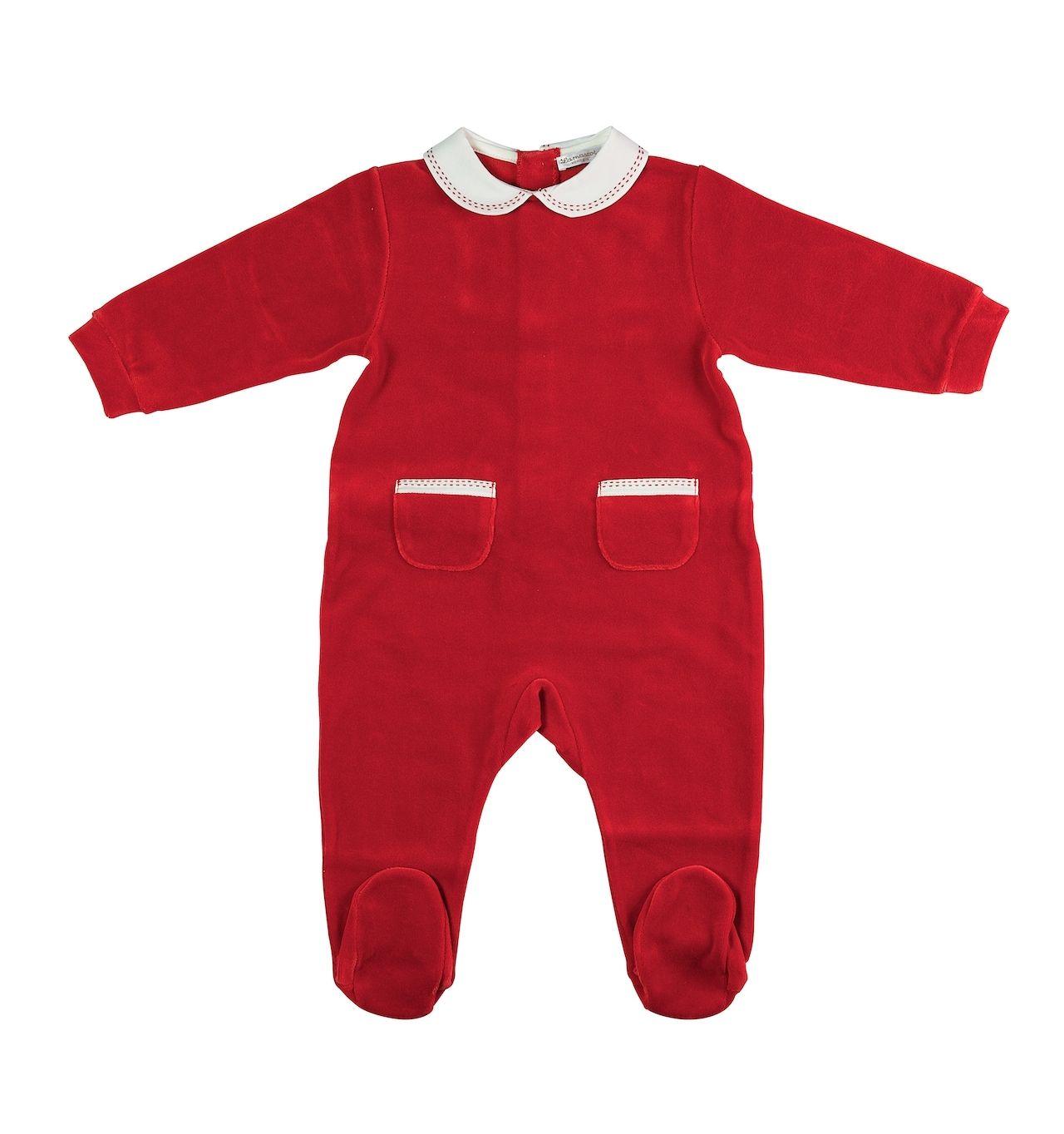 www.mamibu.com #Lamascot #madeinitaly #Babygrow #tutina in #ciniglia #neonato e #neonata. #Natale #Christmas