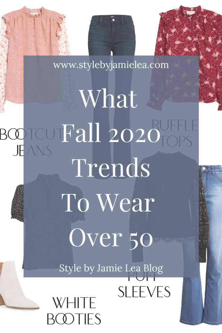 What Fall 2020 Trends to Wear Over 50 - Style For Women -   18 fall outfits 2020 for women over 50 ideas