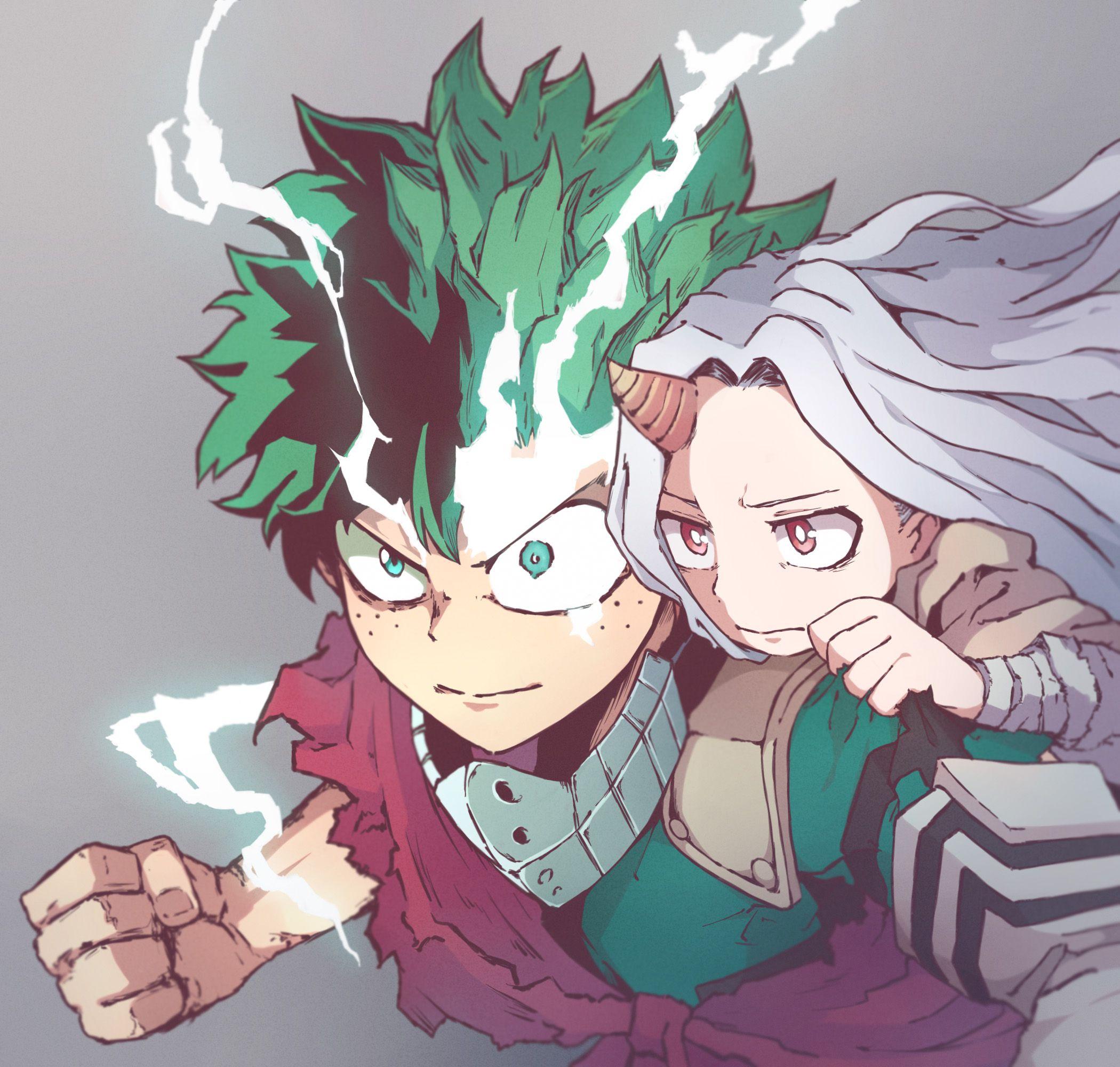 Eri And Deku By Pixiv Id 18973654 My Hero Boku No Hero Academia Anime