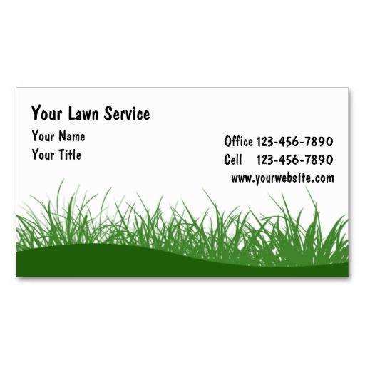 Lawn business cards lawn care business cards pinterest lawn lawn business cards colourmoves