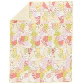 Girl Bedding: Full-Queen Puzzle Patch Quilt by Land of Nod. $209.00. Quilt and Sham: Shell is 100% cotton; Fill is 100% cotton - Sheeting: 100% cotton percale. A bevy of bright floral prints (16 for those keeping track at home) gives our traditional crazy quilt its je ne c'est quoi. *Product Details* 200-thread count Quilt and Duvet Cover are available in Twin and Full/Queen Quilt and Sham are hand quilted Also available in Crib Bedding Imported Click here to orde...
