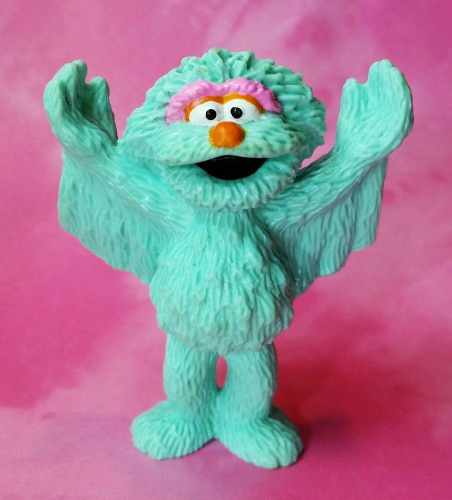 RARE VTG 1998 TYCO Sesame Street Rosita Monster w/WINGS ...