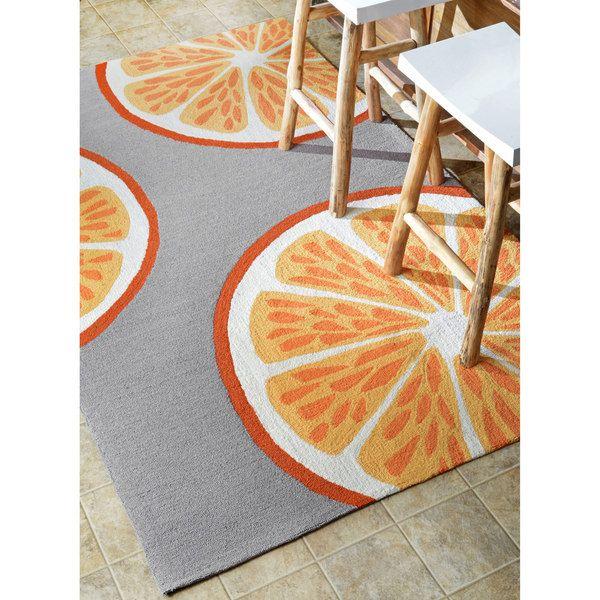 orange kitchen rug nj cabinets dinning room nuloom handmade indoor outdoor modern 7 6 x 9 overstock shopping great deals on 7x9 10x14 rugs