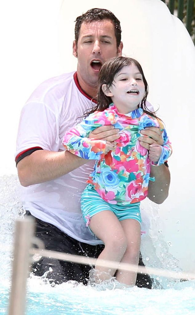 Adam Sandler & Sunny from Famous Families on Vacation   ADAM