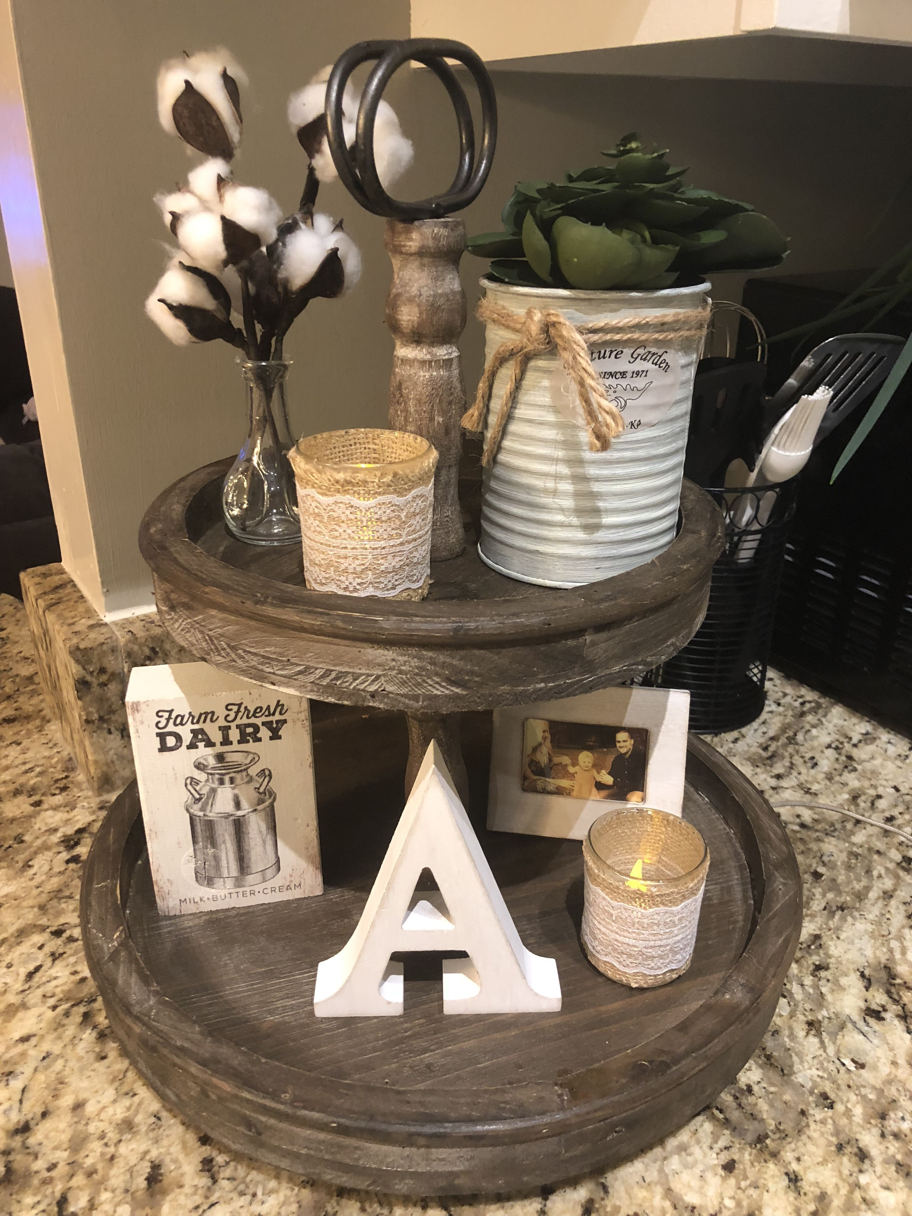 Coffee Table Tray Styling Modern