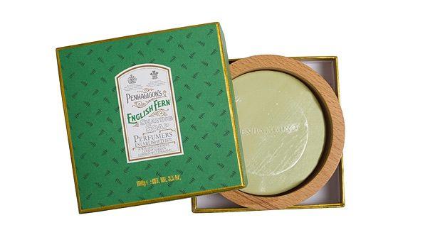 Penhaligon's English Fern soap.