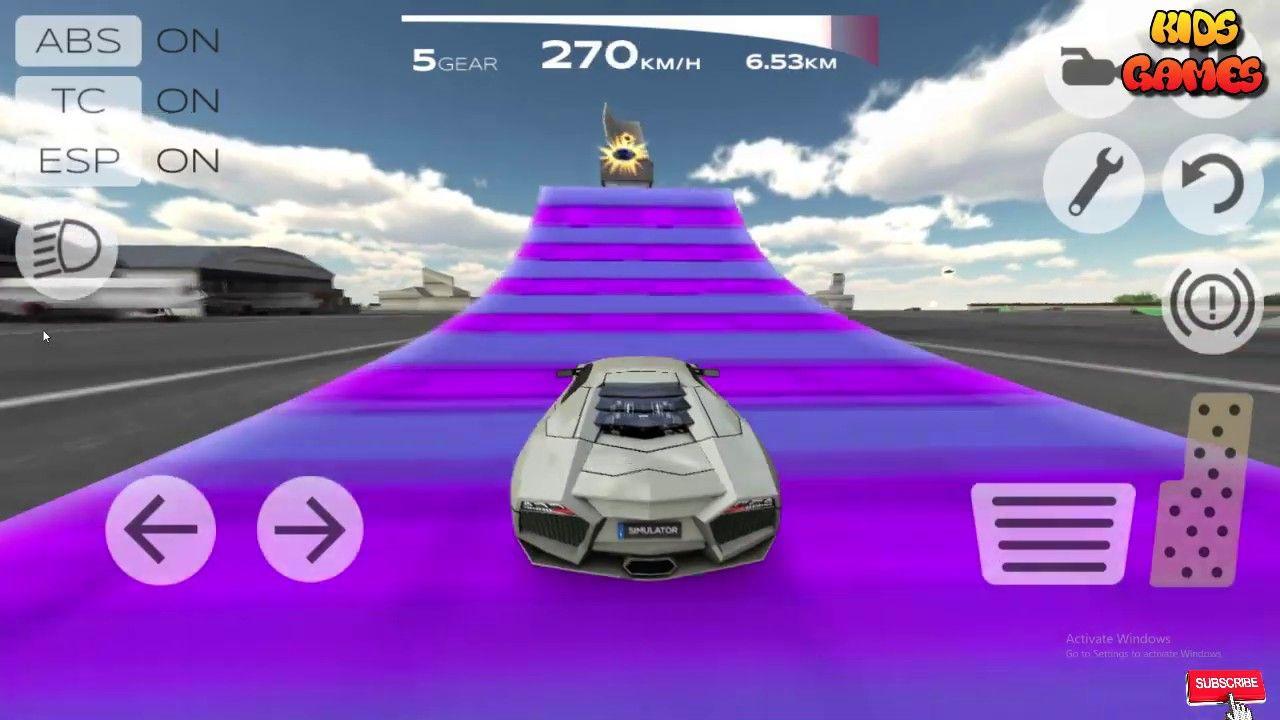 Extreme Car Driving Simulator Car Racing Games 2019 Ii Racing Games New Trucks Racing