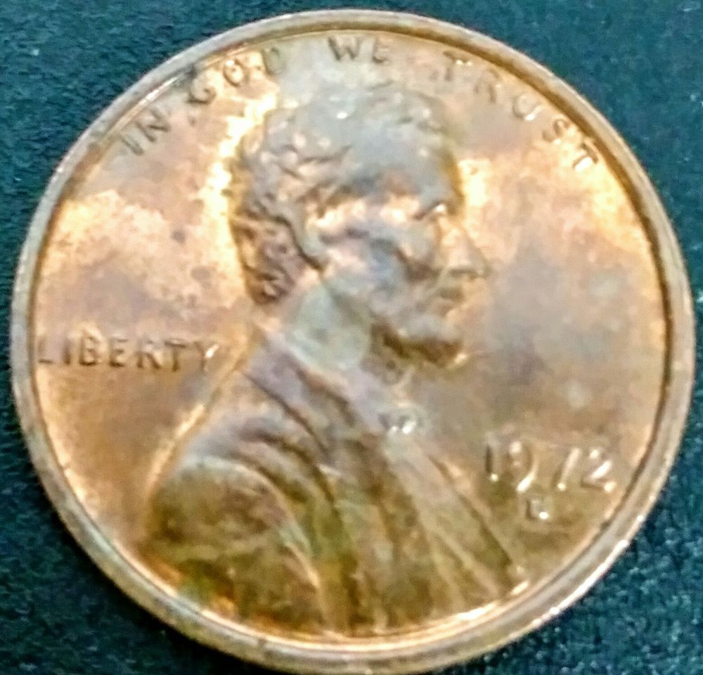 Details about 1972 Lincoln Penny One Cent Coin Doubled Die