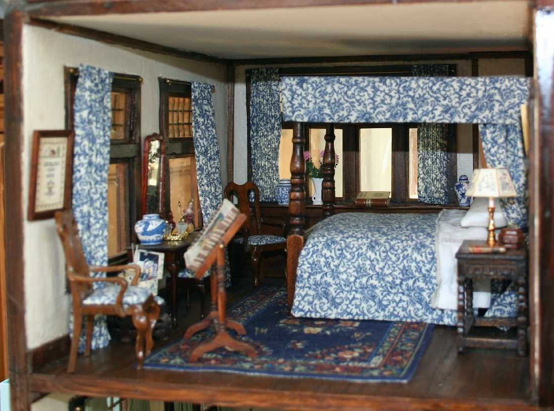 Chippendale Schlafzimmer ~ 254 best dollhouse bedrooms images on pinterest doll houses