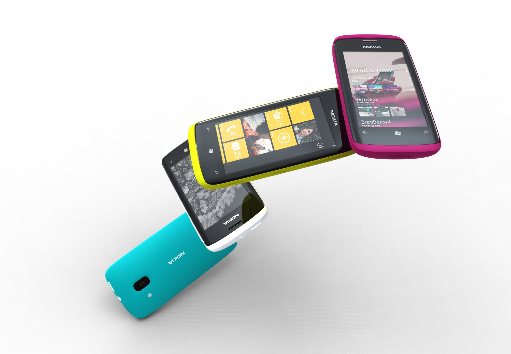 Nokia finally unveils not one but two windows phones the lumia 800 - Concept Nokia Windows Phones 12