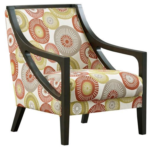 Carmen Fabric Accent Chair - Art Van Furniture