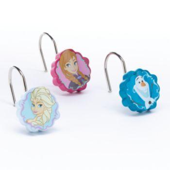 Disneys Frozen Cameos 12 Pk Shower Curtain Hooks