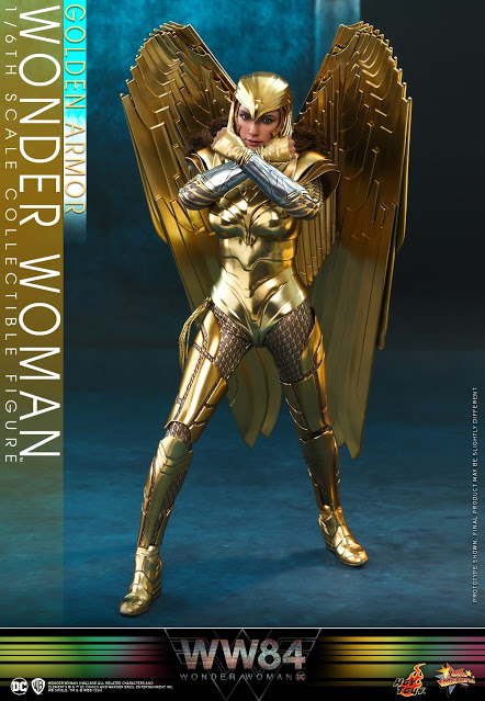 Wonder Woman 1984 Golden Armor By Hot Toys In 2020 Wonder Woman Amazons Women Warriors Hot Toys