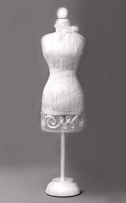 MINIATURE DRESS FORMS - (Russian language) dress form inspirations ...
