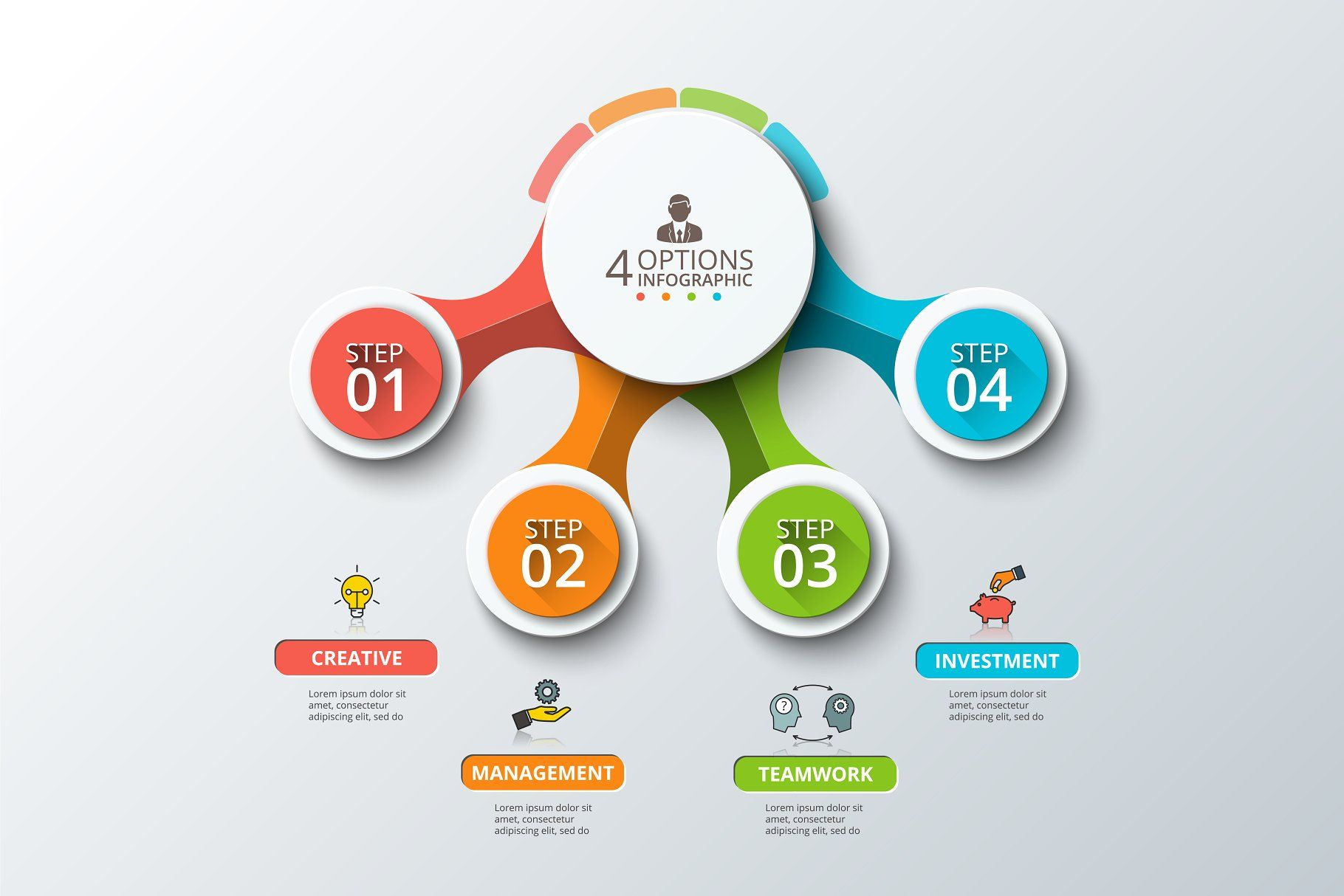 diagrams for business infographic v5 infographic business diagrams