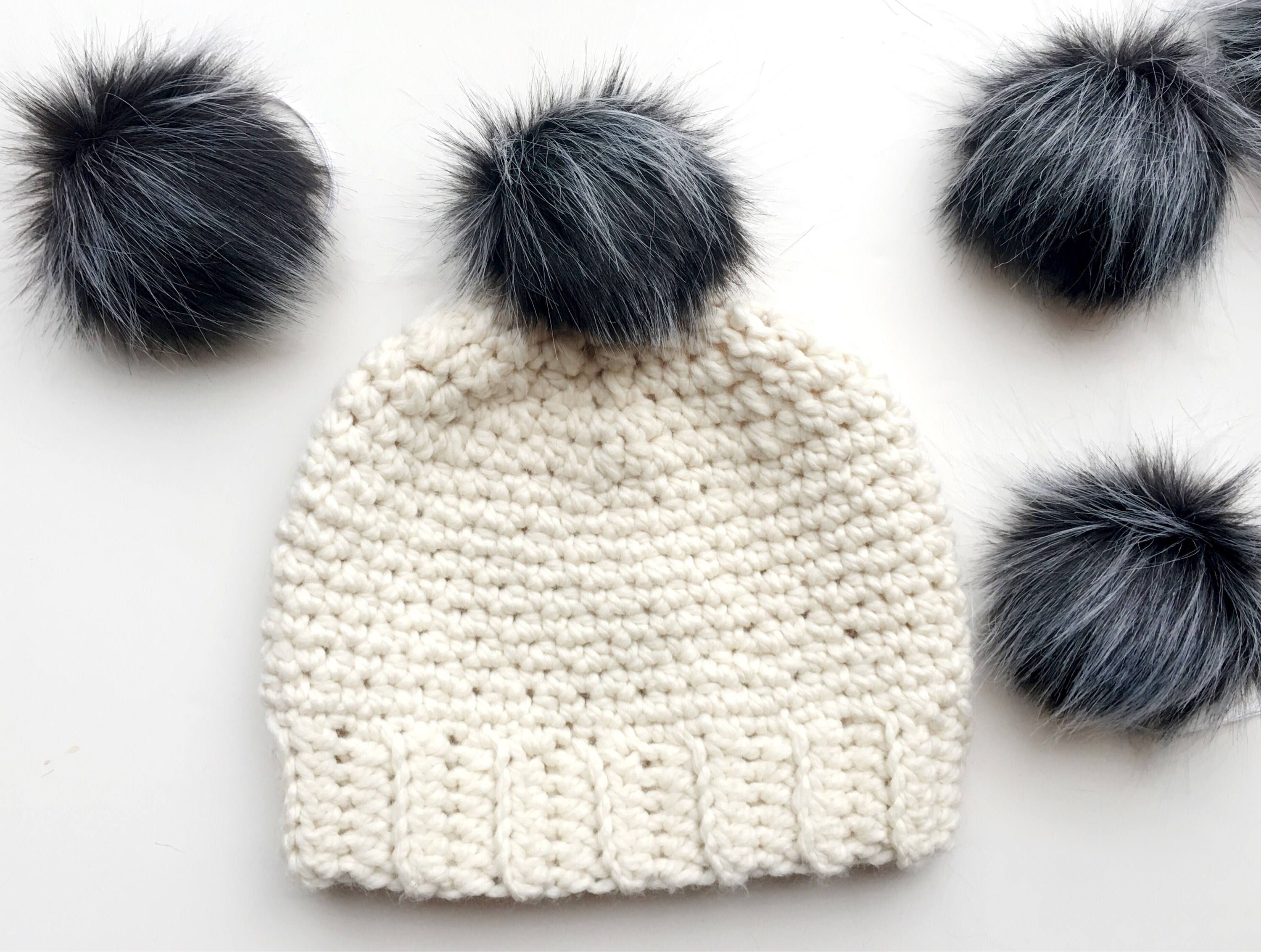 4de1d7c60cb Excited to share the latest addition to my  etsy shop  Faux Fur Pom ...