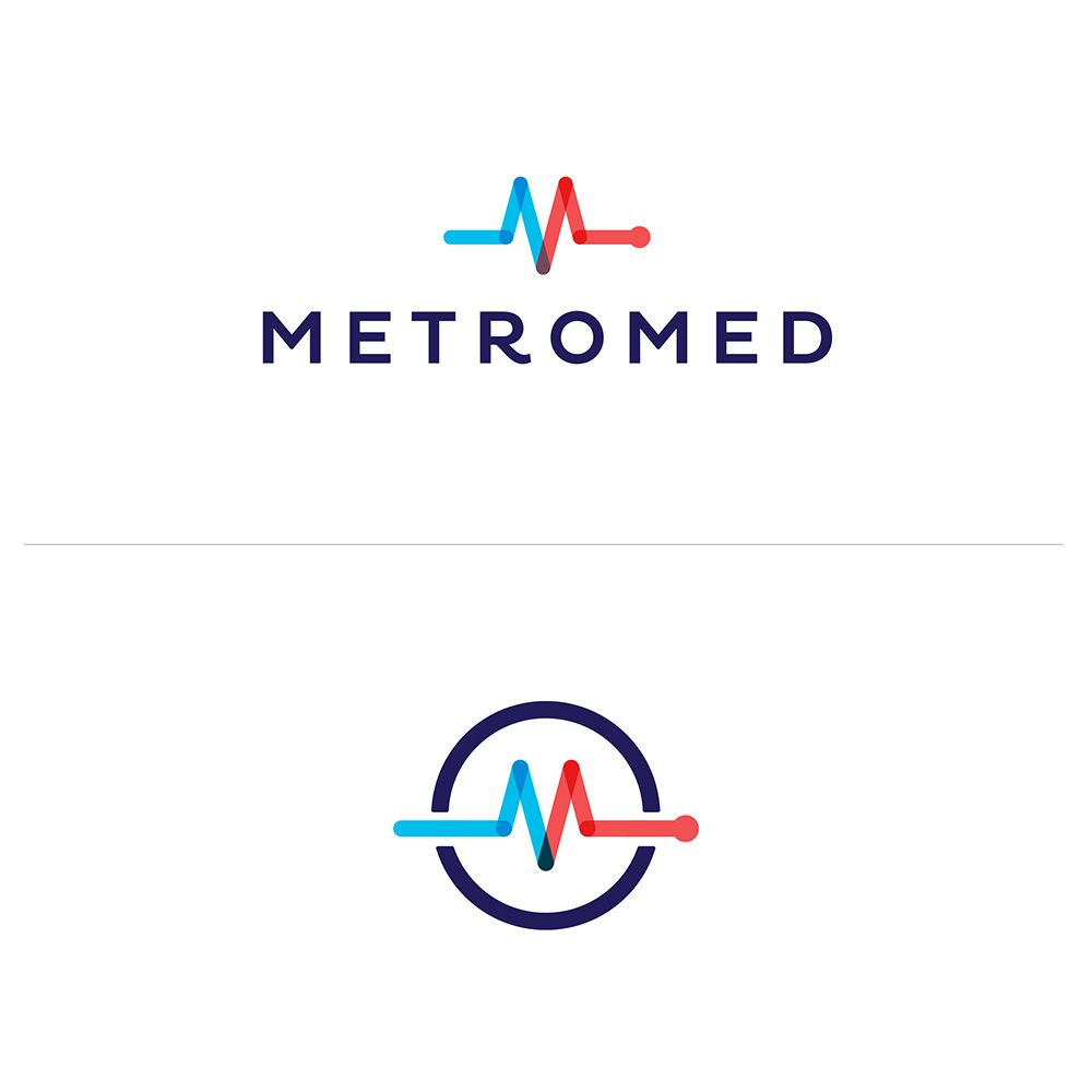 MetroMed | Logos, Medical logo and Medical