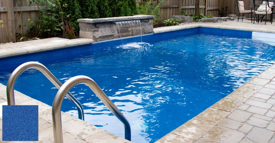 Dark Blue Pool Water vinyl pool liners pictures | border designs | pool | pinterest
