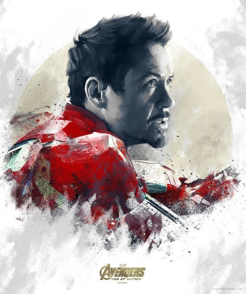 Avengers: Age of Ultron Iron Man  Portrait - Vlad Rodriguez