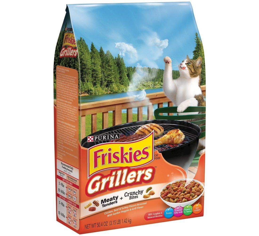 Friskies Grillers Blend Dry Cat Food 3 15 Lbs Pack Of 6 Read More Reviews Of The Product By Visiting The Link On Th Dry Cat Food Cat Food Purina Friskies