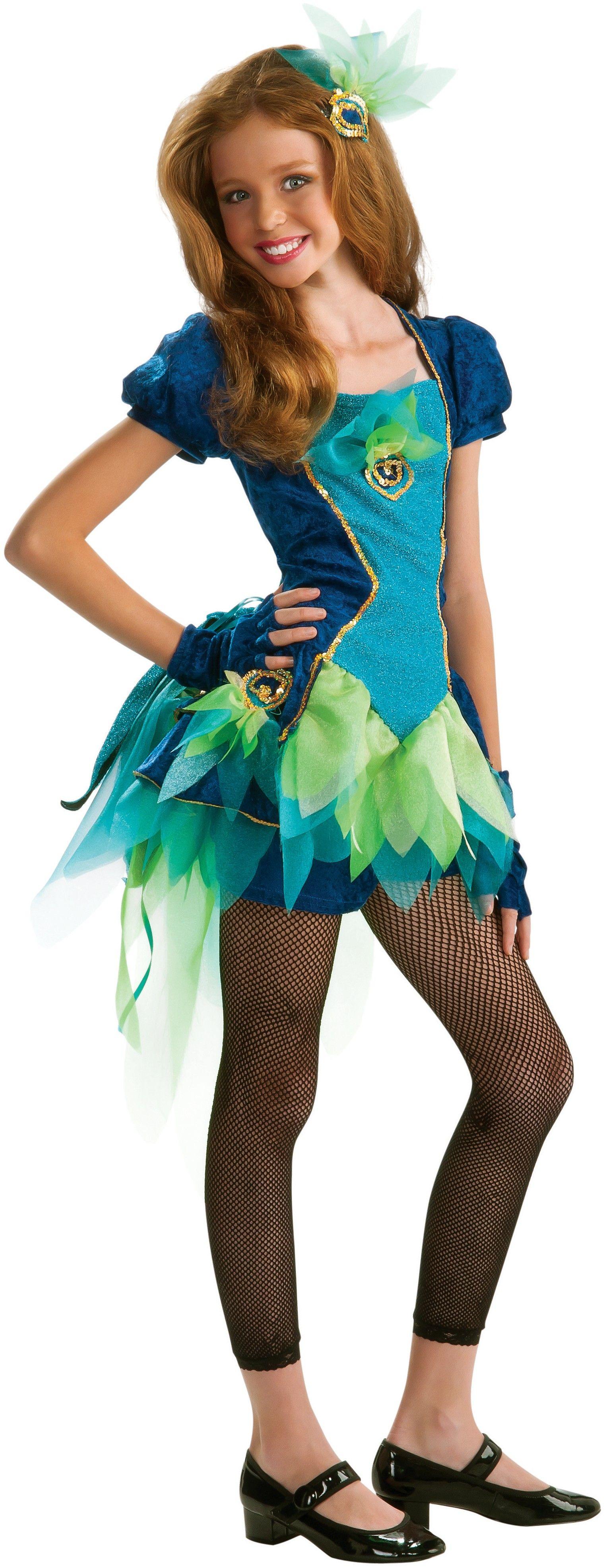 Tween Pretty Peacock Costume Tween costumes, Girls