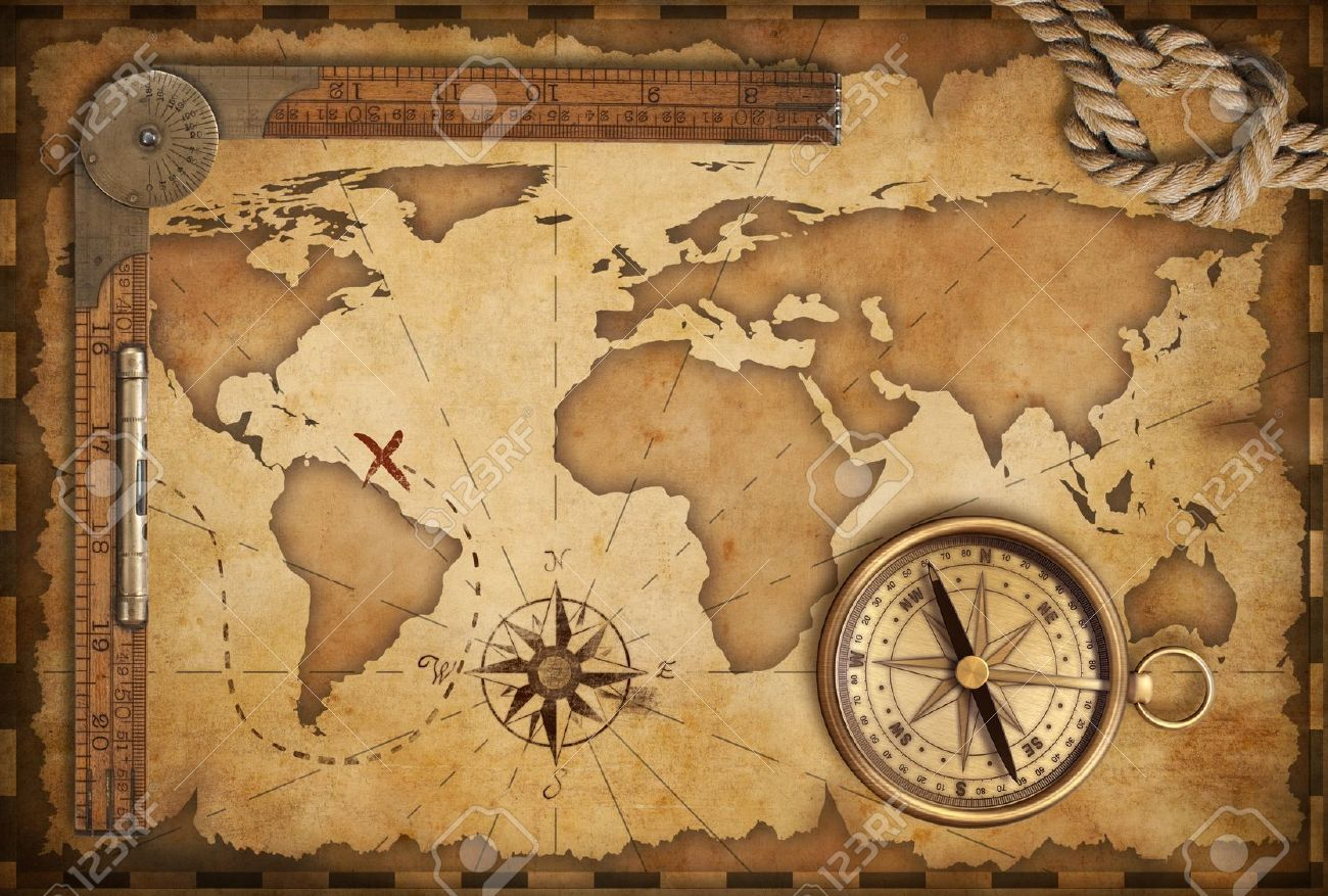 icon of treasure map with rope - Google Search | Nautical Wedding
