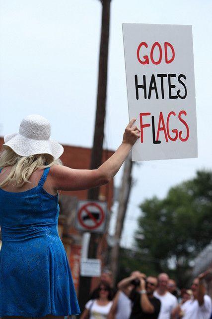 Doo Dah God Hates Flags One Shoulder Dress Shoulder Dress Fashion