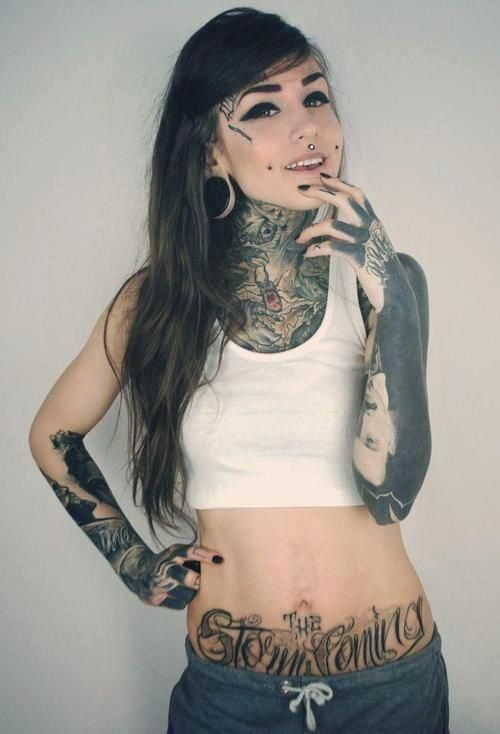 Suicide girls brazil tattoos pinterest posts love for Girl nipple tattoo