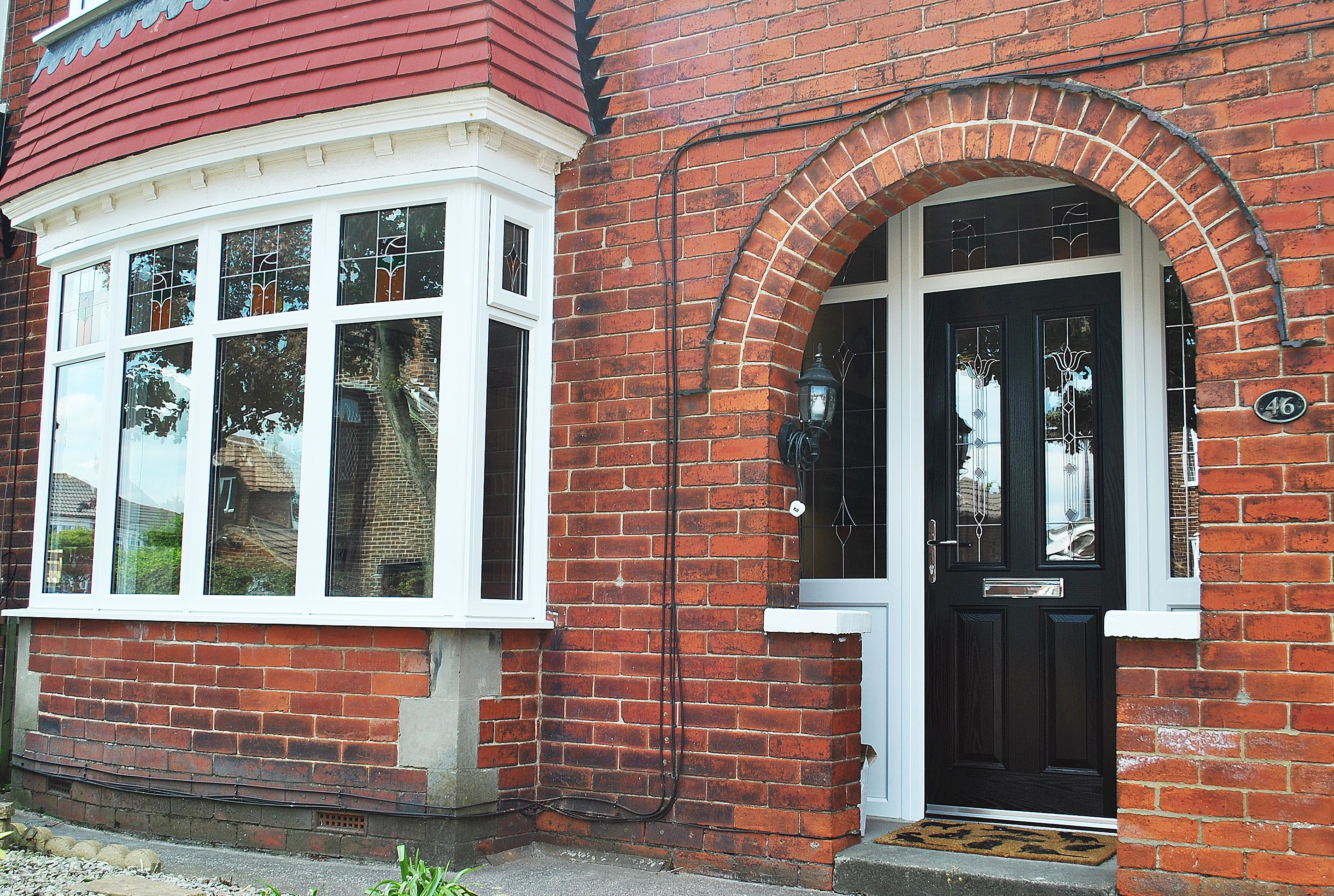 a stunning renovation of upvc rehau frames and windows altmore composite door and bespoke