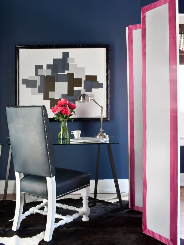 Small-Space Home Offices   Hgtv, Office pictures and Divider