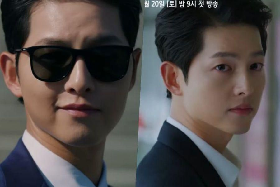 "Watch: Song Joong Ki Turns Into Unstoppable Antihero With Plans For Revenge In New ""Vincenzo"" Teaser"