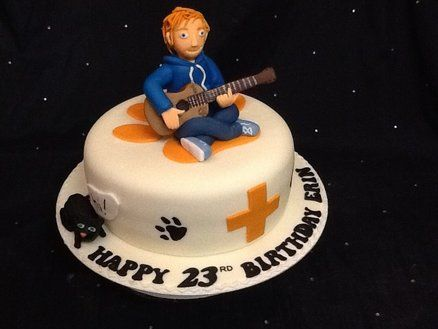 Ed Sheeran Cake By Amber Catering And Cakes Kids Cake Cake