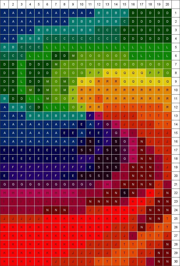 OOOOhhhhh,,,how cool would this one be as a twister quilt?   Color Swirl Quilt Pattern: