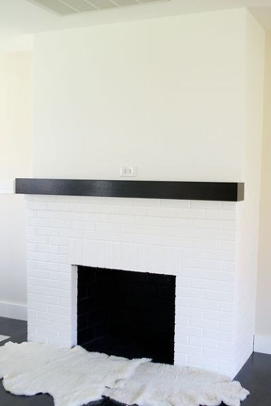 Painting Our Red Brick Fireplace White #whitebrickfireplace painting our red brick fireplace white, diy, fireplaces mantels, living room ideas, painting #whitebrickfireplace Painting Our Red Brick Fireplace White #whitebrickfireplace painting our red brick fireplace white, diy, fireplaces mantels, living room ideas, painting #whitebrickfireplace