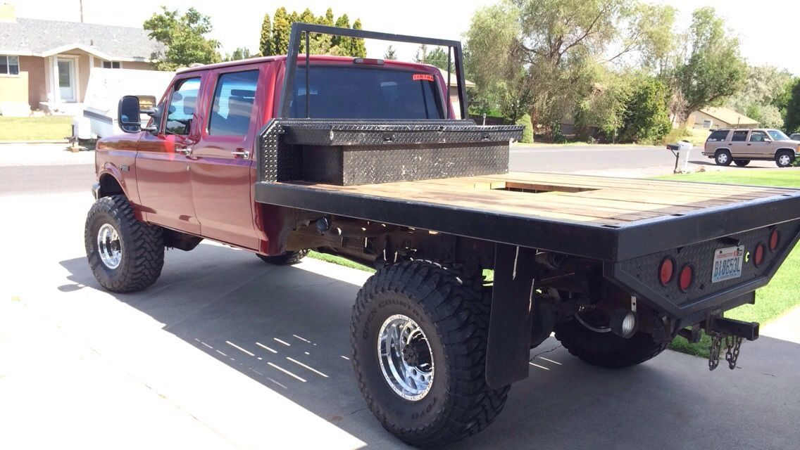 96 f250 flatbed Google Search Custom trucks, Custom