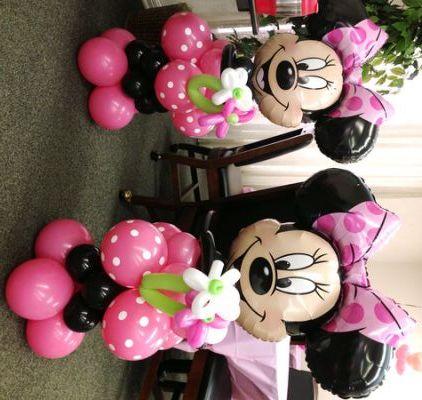Minnie Mouse Balloons Party City Geburtstag Fiesta Minnie