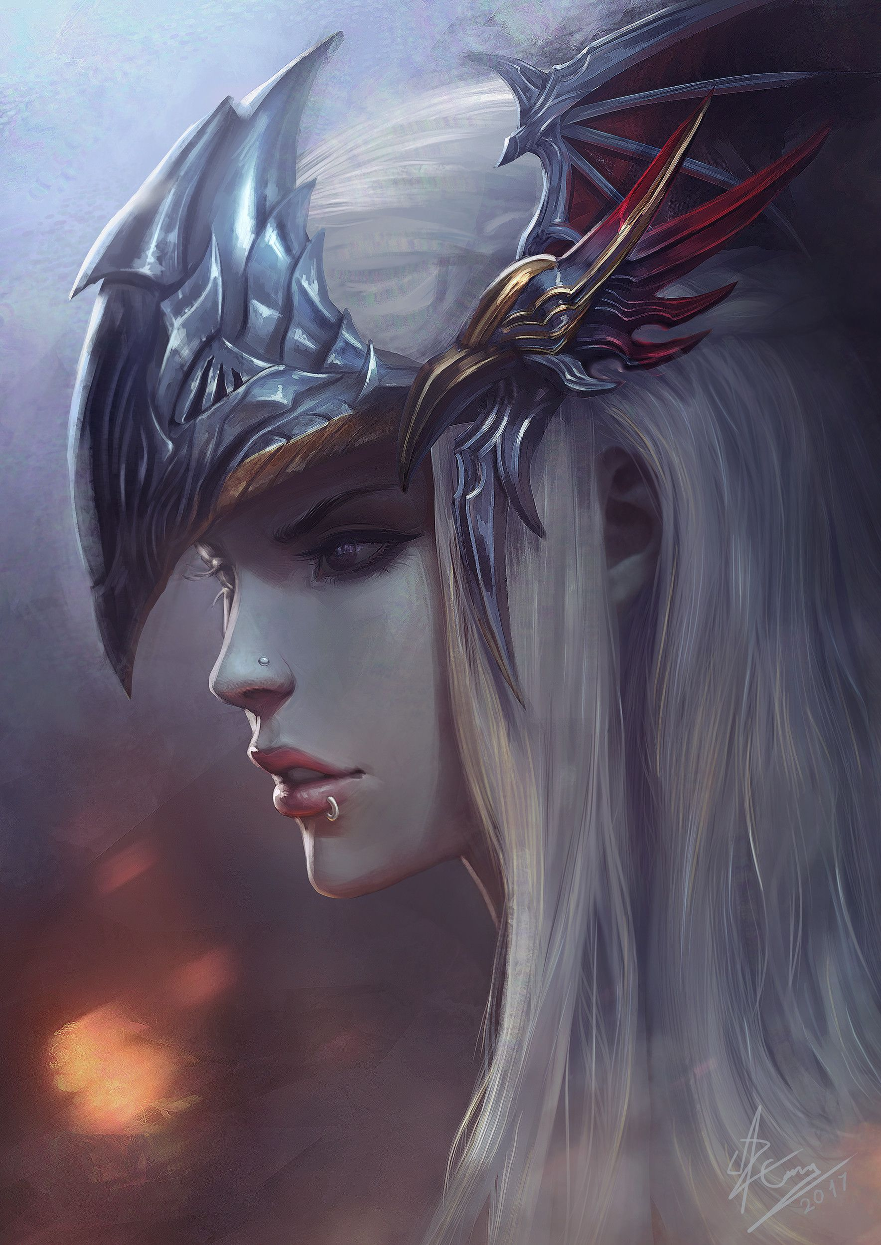 ArtStation - Reberta - Final Fantasy Brave Exvius, Azaggon :: | Art