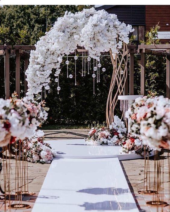 Nice 36 Most Creative Wedding Ideas Found On Pinterest Cool Wedding Ideas Weddingsho Cool Creat Wedding Stage Decorations Gazebo Wedding Wedding Scene