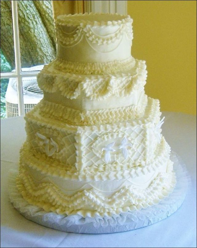 49 Beautiful Old Fashioned Wedding Cake Ideas | Wedding cake ...