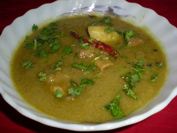Green Rezala Gosht Recipe Indian food recipes, Gosht