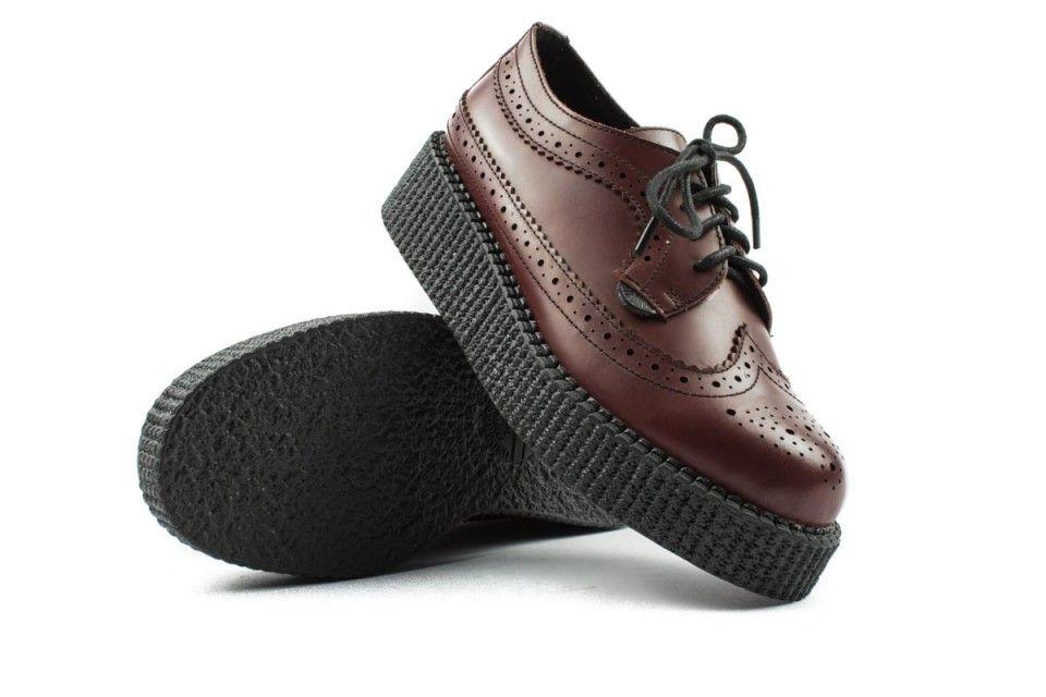 d043cff0583d6 Underground scarpe stringate bordeaux immagini