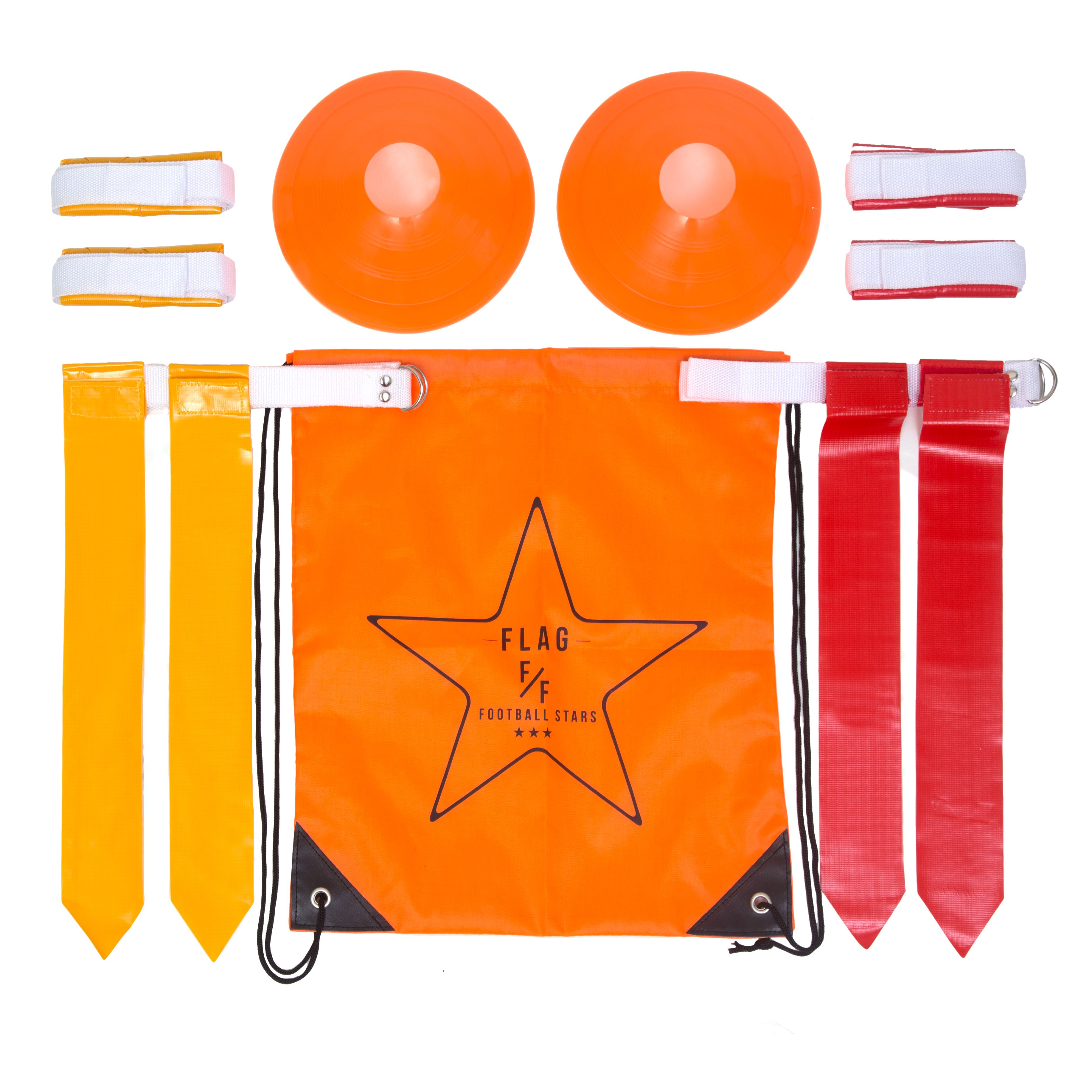 Flag Football Set Belts Flags Cones Carry Bag Great For The Whole Family Sports Flags Flag Football Flag