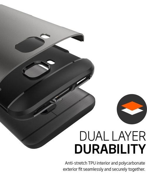 Spigen Slim Armor Case HTC One M9 Metal Slate