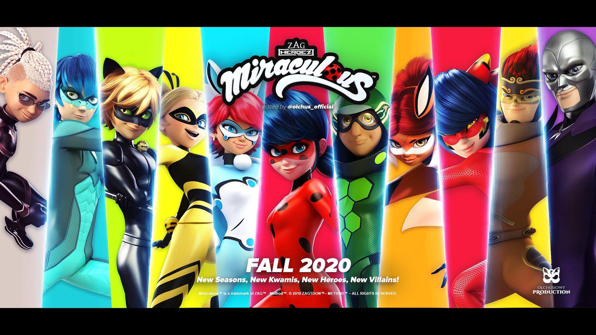 Miraculous Ladybug All Superhero Names