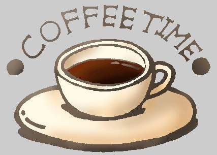 coffee time free clipart free microsoft clipart clip art rh pinterest co uk coffee pot clipart free coffee mug free clip art