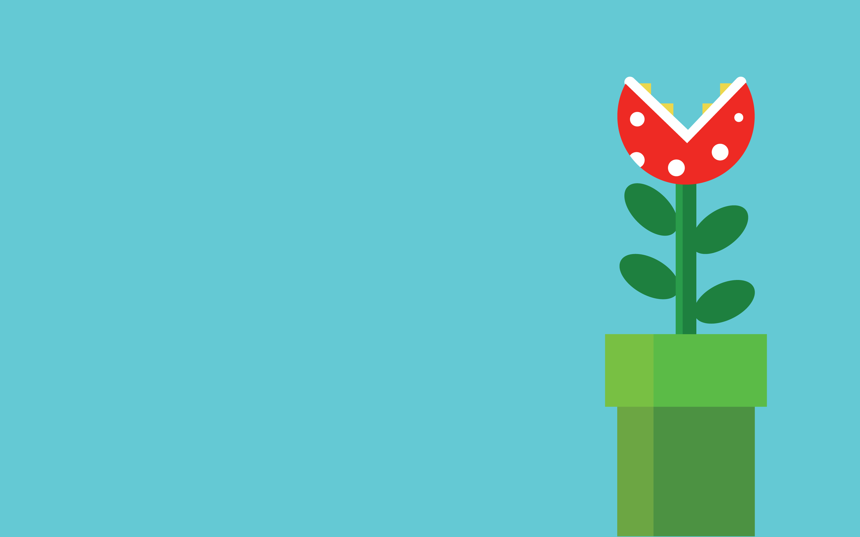 Predatory flower, the game Super Mario Bros wallpapers and