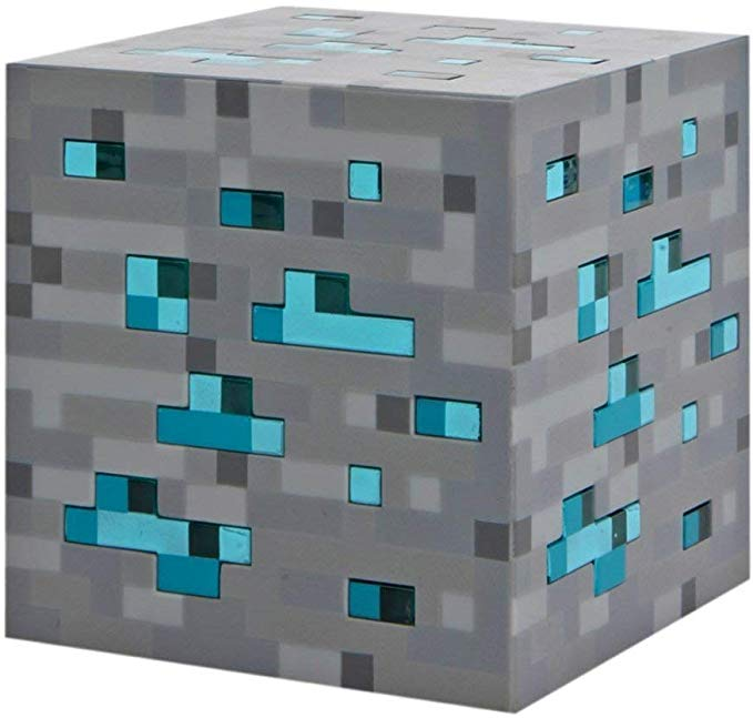 Minecraft Light Up Blue Stone Diamond Ore Minecraft Light Star Night Light Light Up