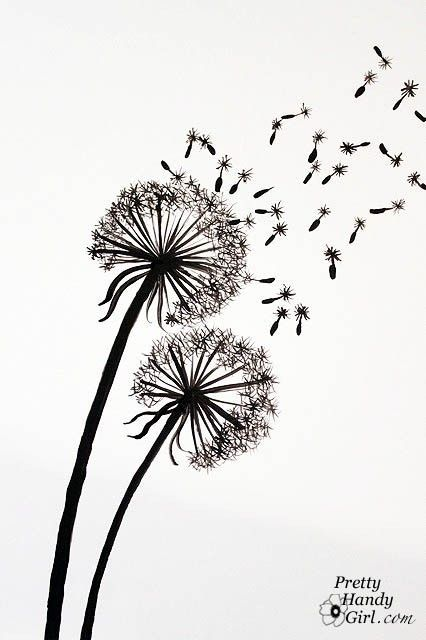 Dandelion Wall Painting Abstract Art Painting Art Inspiration Dandelion