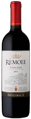 Remole - Marchesi de' Frescobaldi. Remole is an intense wine, soft and fruity, that will captivate and delight you. Particularly suited for full flavoured first courses, charcuterie and red meat.