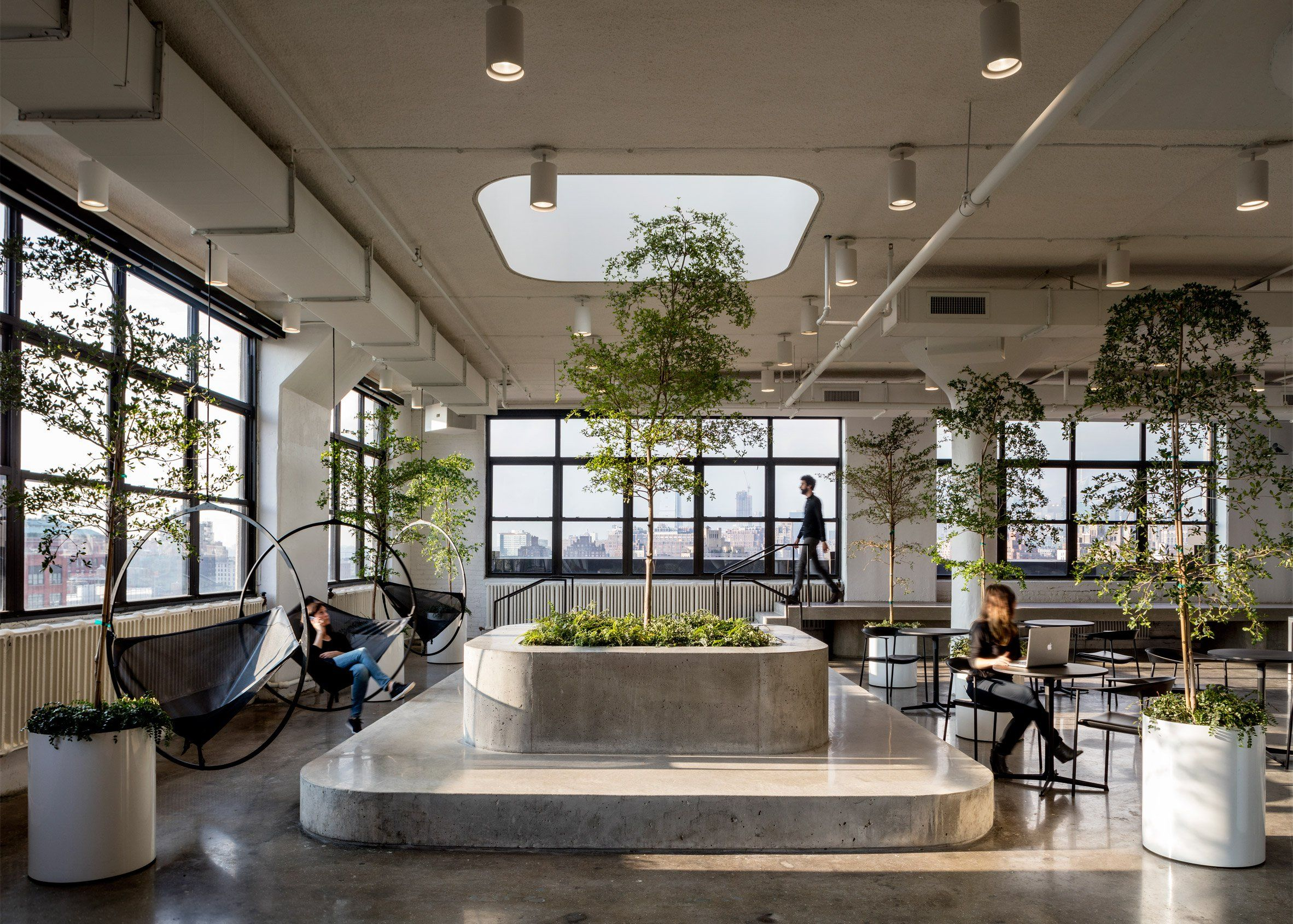 A I Uses Yin Yang Palette For Squarespace Headquarters In New York
